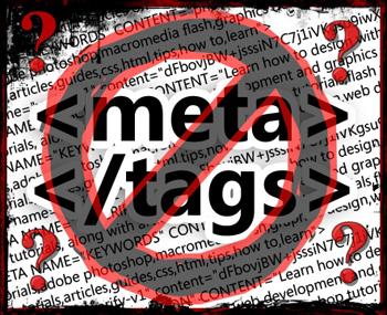 網站是否需要加meta tag