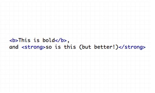 bold-10個最常犯的HTML標籤錯誤