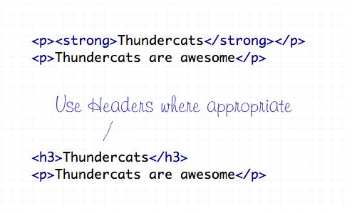 headers-10個最常犯的HTML標籤錯誤